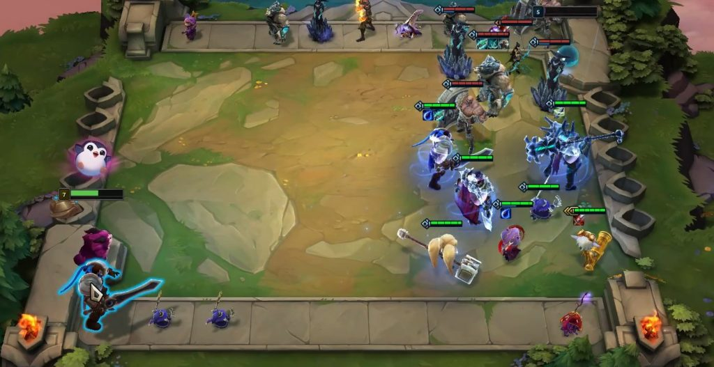 Tristana carry in the corner