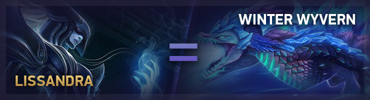 Lissandra TFT Winter Wyvern