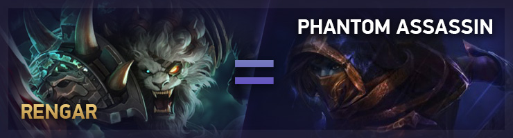 Rengar TFT Phantom Assassin DAC