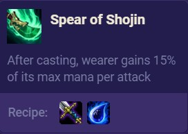 TFT Spear of Shojin