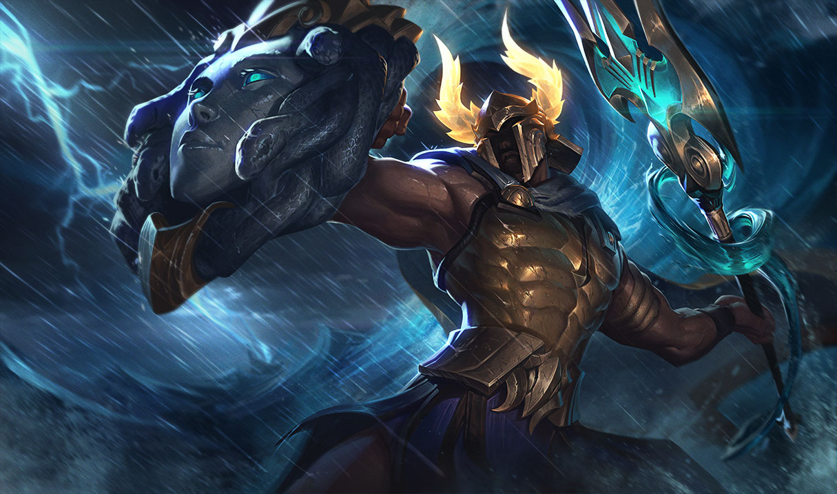 Pantheon's Rework Makes Him the Perfect Melee Champion for Noobs