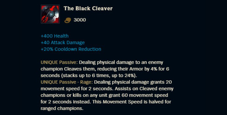 The Black Cleaver