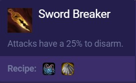 new sword breaker