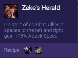 new zeke's herald