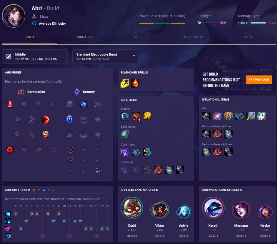 Champion pages