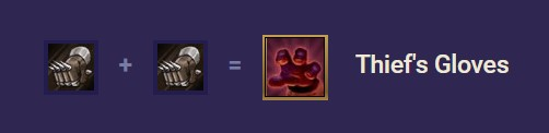 TFT Thief's Gloves