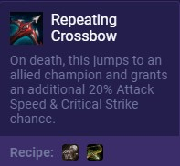Set 2 Repeating Crossbow