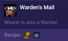 Set 2 Warden's Mail