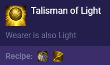 Talisman of Light