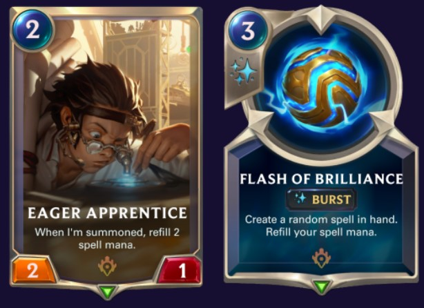 eager apprentice flash of brilliance updated