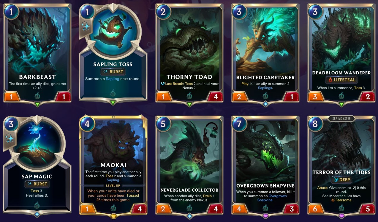 shadow isles new cards spoiler