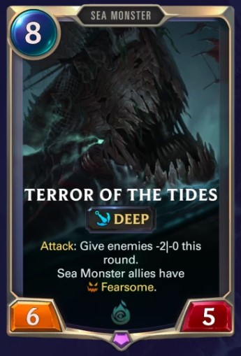 terror of the tides lor