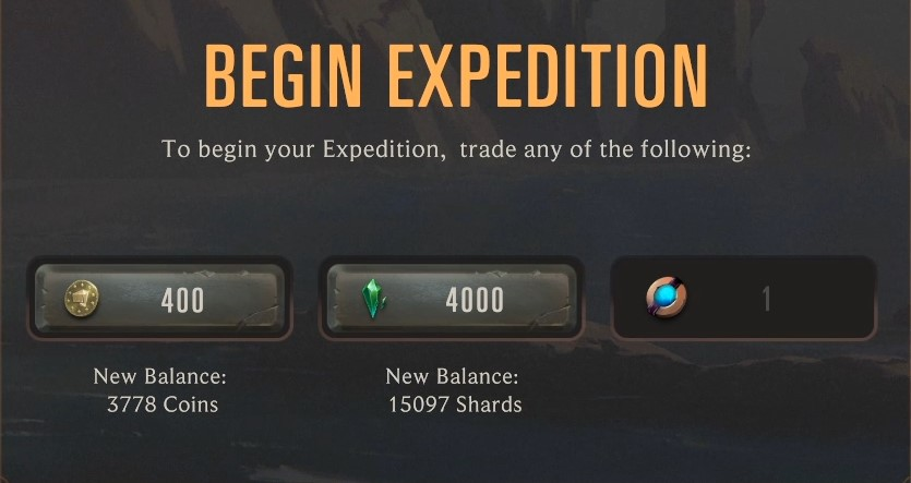 Expedition fee