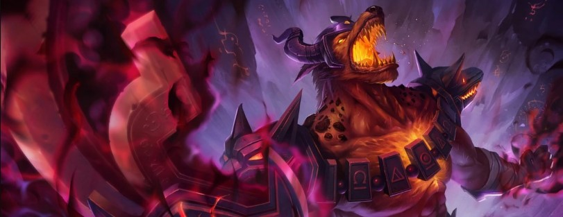 Infernal Nasus splash
