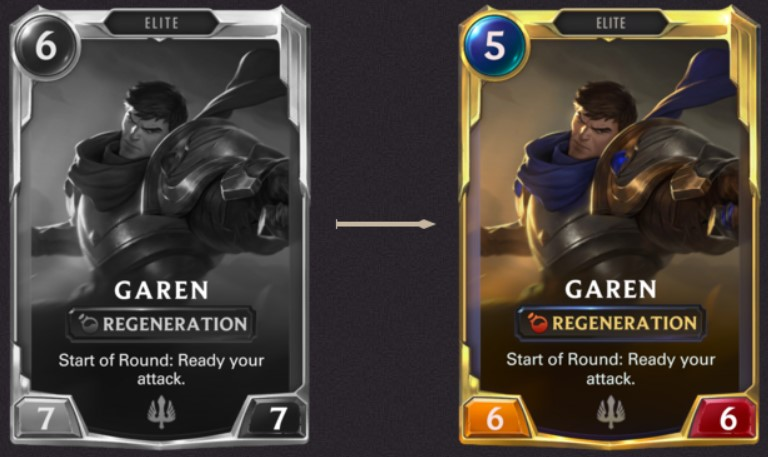 Nov Leveled up Garen