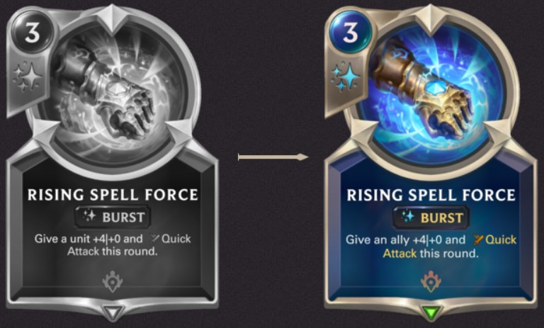 Nov Rising Spell Force