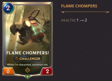 open beta flame chompers