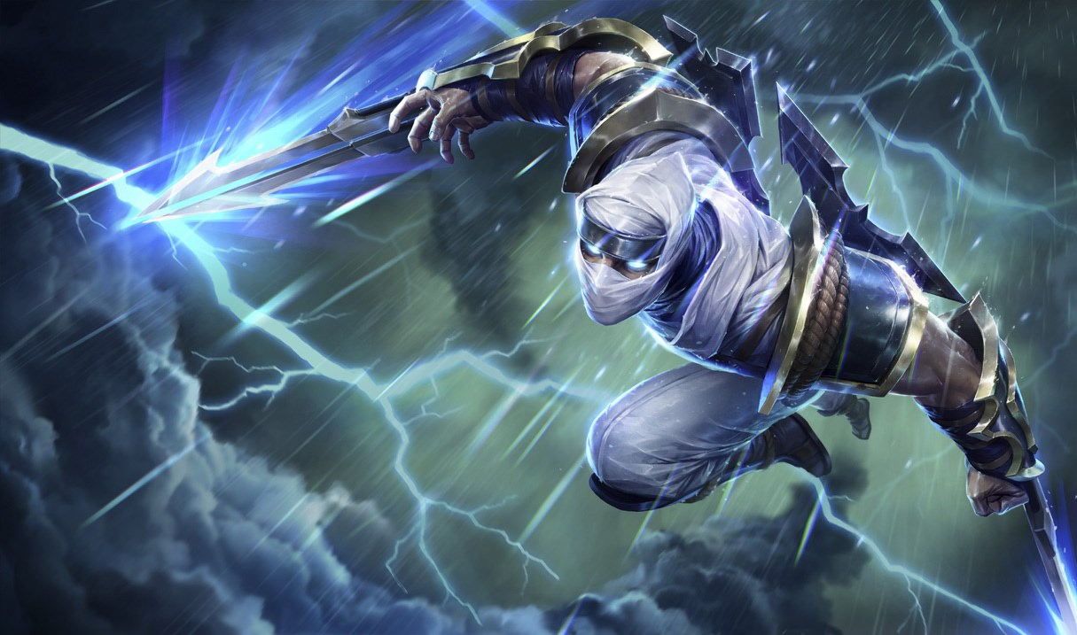 Shockblade Zed splash