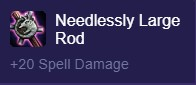 TFT Needlessly Large Rod