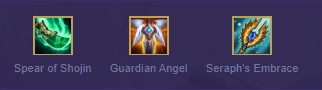TFT Karma Recommended items