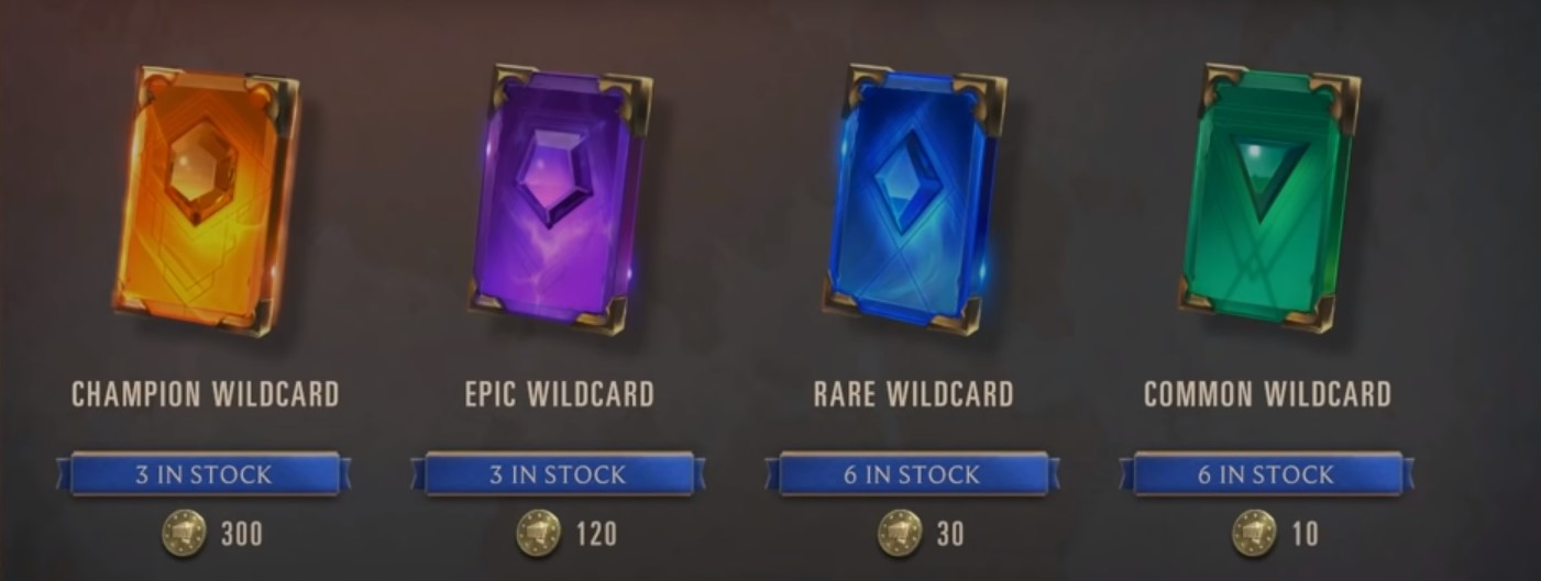 wildcards in store