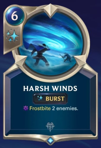 Harsh Winds card