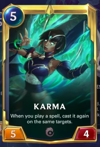 karma enlightened card