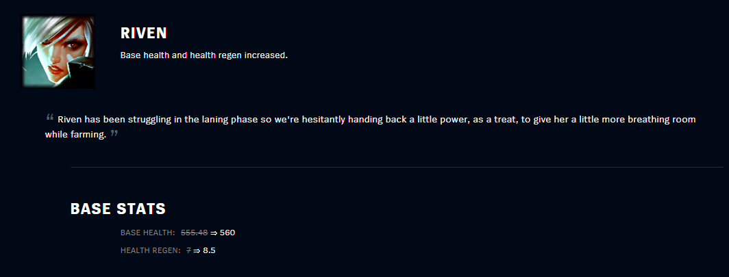 patch 10.7 riven