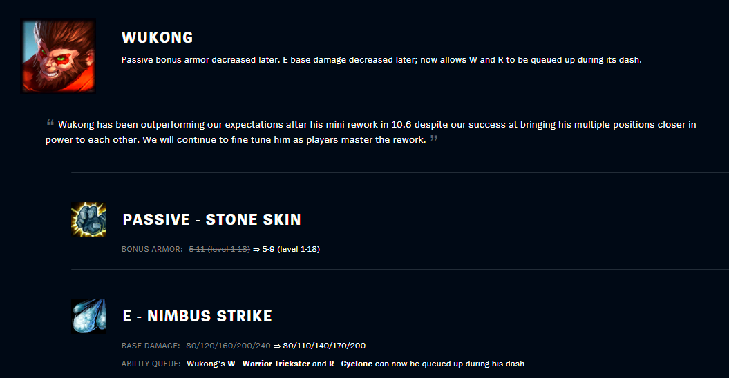 patch 10.7 wukong