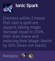 set 3 ionic spark