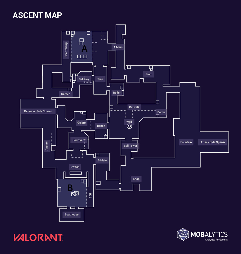 Ascent Valorant map