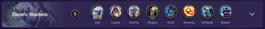 tft Electric Wardens Team Comp