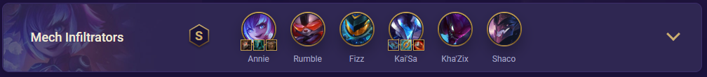 tft Mech Infiltrators Team Comp