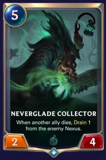 neverglade collector lor