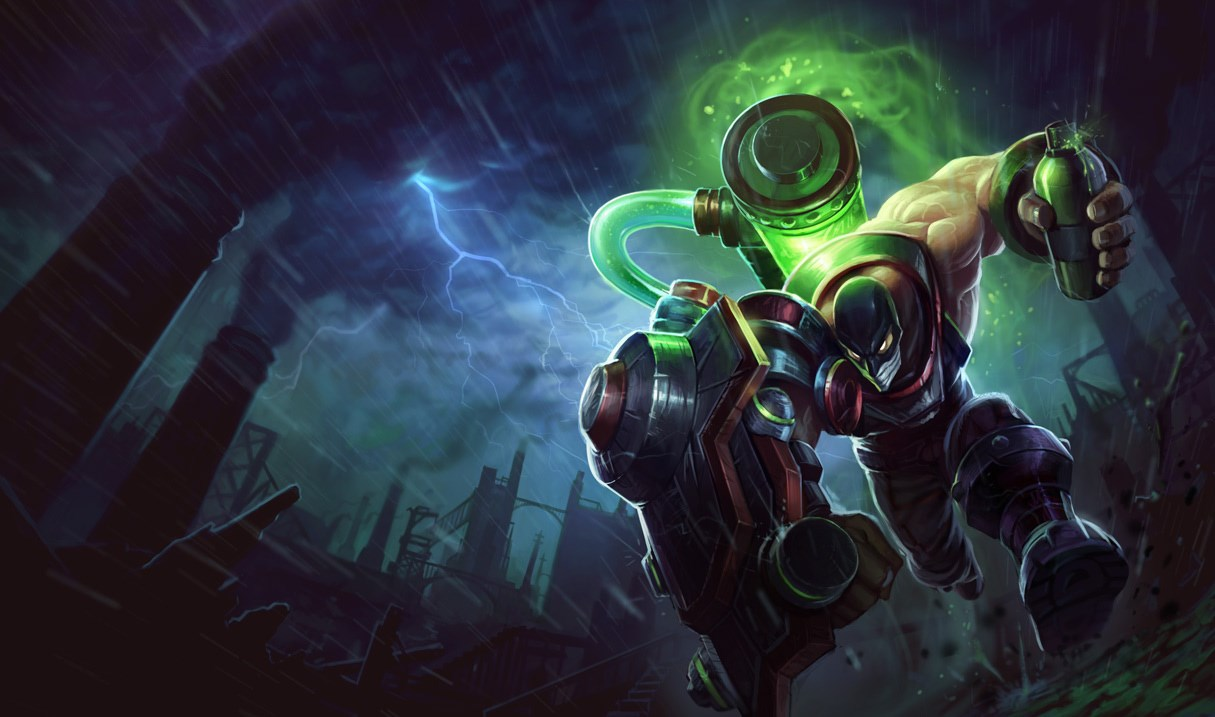 singed augmented splash