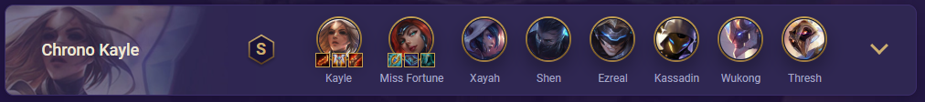 tft chrono kayle team comp
