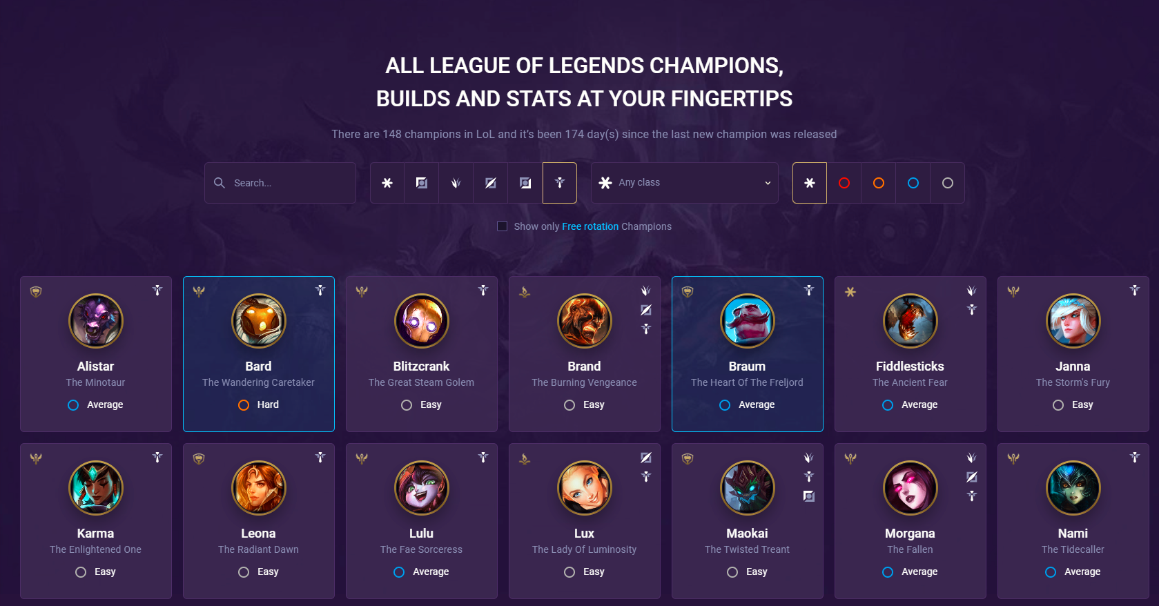 champion pages supp