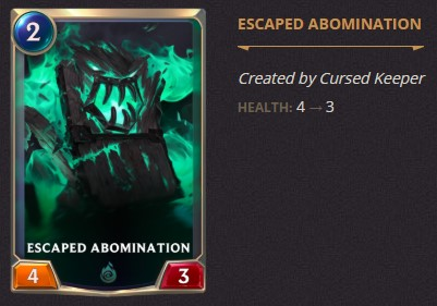 escaped abomination