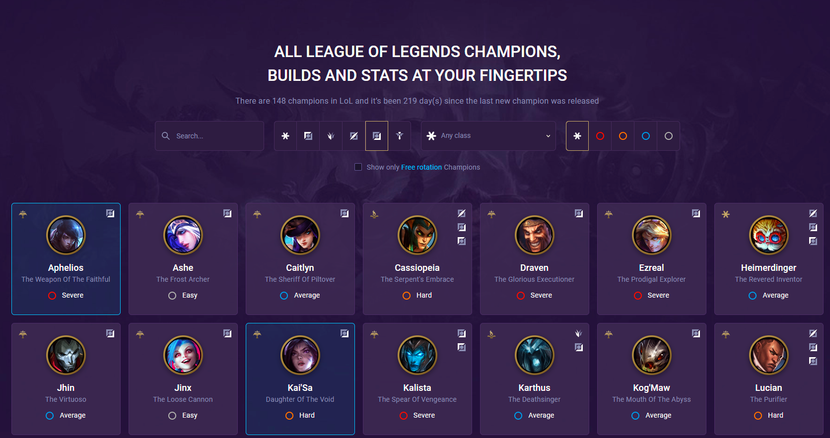 bot champ pages