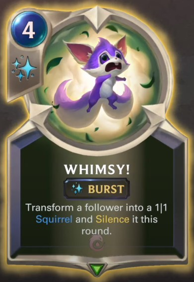 Whimsy! reveal