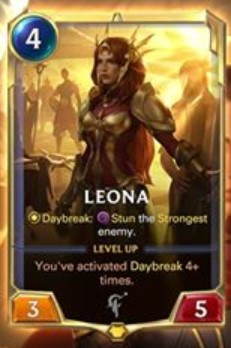 lor leona level 1 reveal