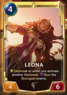 lor leona level 2 reveal