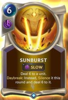 lor sunburst reveal