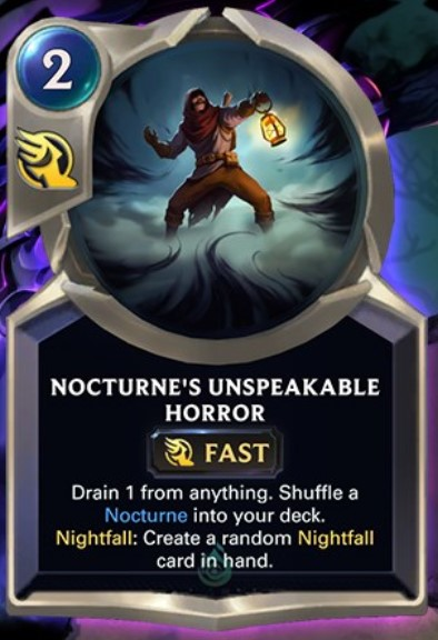 nocturne's unspeakable horror