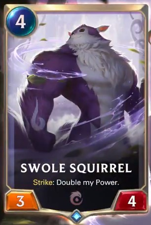 swole squirrel reveal
