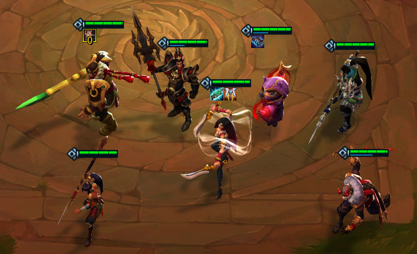 tft kennen warlords