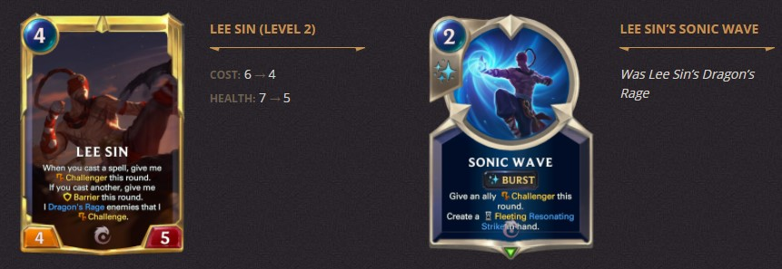 lee sin level 2 sonic wave 1.10